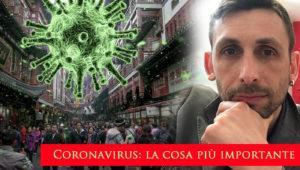 Coronavirus- la cosa più importante