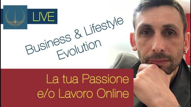 Il WEB per la propria Passione e/o LAVORO – LIVE