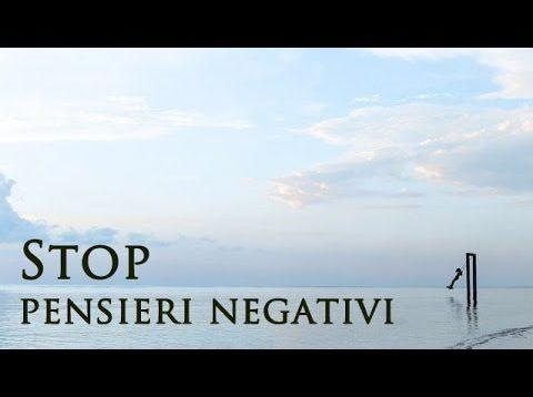 Liberarsi (davvero) dai pensieri negativi