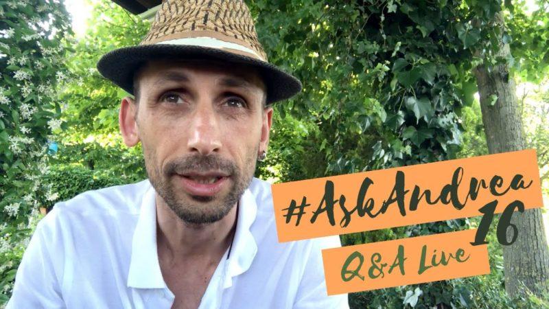 #AskAndrea 16