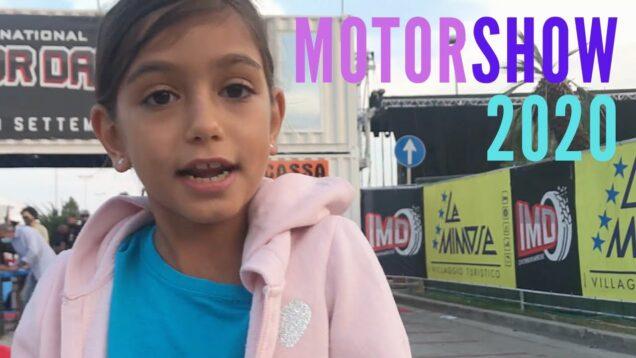 Vado all'INTERNATIONAL MOTOR DAYS 2020!!!